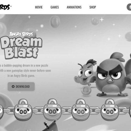Официальный сайт Angry Birds